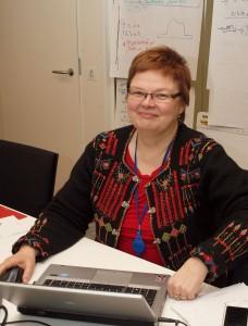 Eeva Heinonen kertoo olevansa unelmaduunissaan.