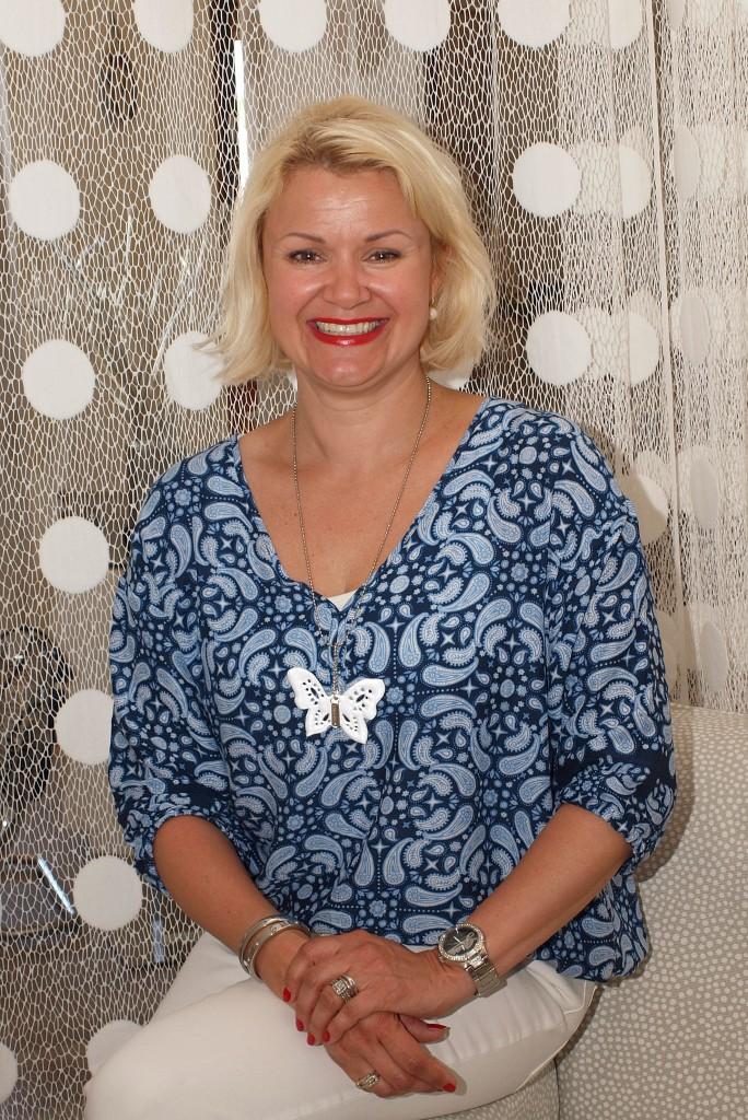 Susanna Blomqvist johtaa muovituotteita valmistavaa Saintex Osakeyhtiötä.
