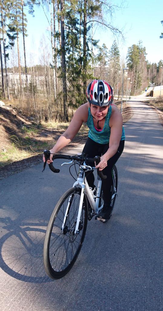 Innasen uusin aluevaltaus on triathlon.