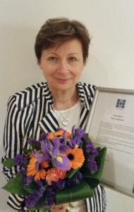 Henry ry:n luottamustoimissa kunnostautunut Hyppänen palkittiin viime vuonna järjestön kunniakirjalla.