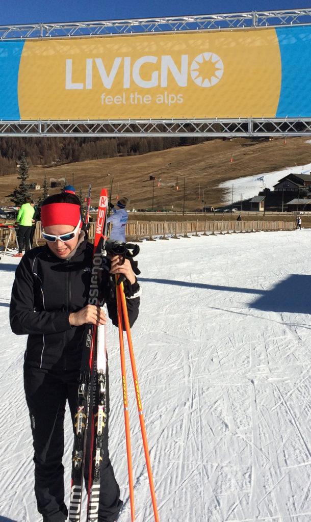Rankinen on innokas hiihtäjä, joka aloittaa mieluusti kauden jo joulukuussa ulkomailla.