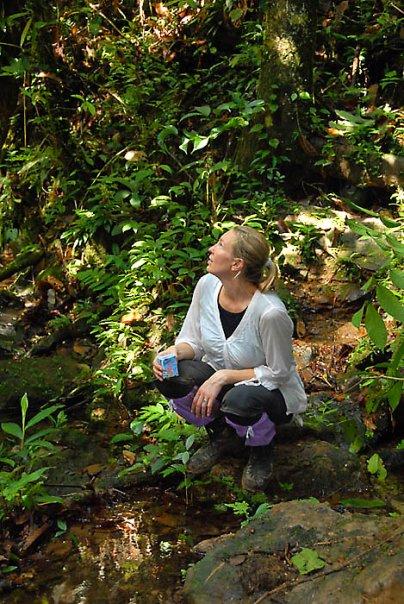 Borneon sademetsässä Kuure kävi kuvaamassa vuonna 2007.